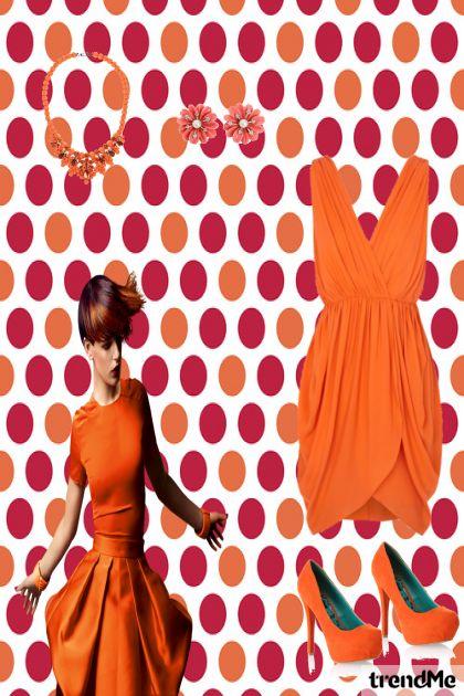 naranćasta kombinacija
