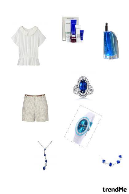 plava i bijela