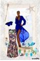 plavi leptir
