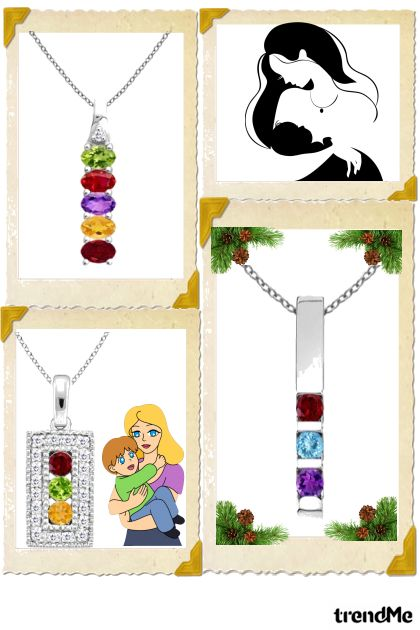 Colorful Mother's Day Pendants