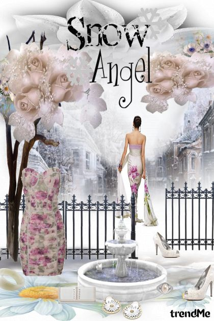 Snow angel dream from collection Fashion by Sonja Jug