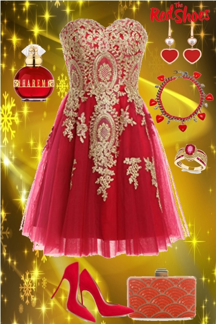 The Red Ball Dress