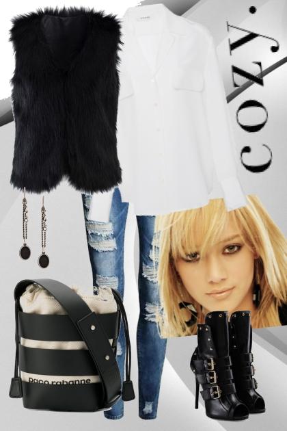 Cozy- Modna kombinacija