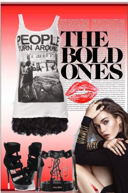 """THE BOLD ONES""- Fashion set"