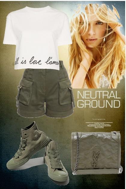 Neutral Ground- Fashion set