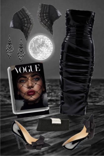 VOGUE in BLACK- Fashion set