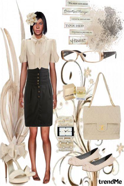 simple bizz dress up- Fashion set