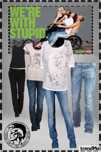 i'm with stupid. you?