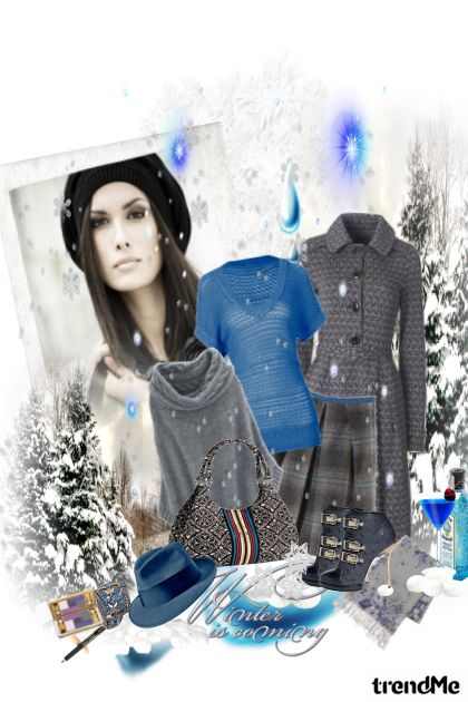 Crystal Blue Winter