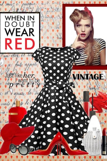 When in doubt... wear red