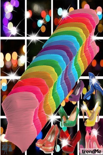 L.L rainbow shine