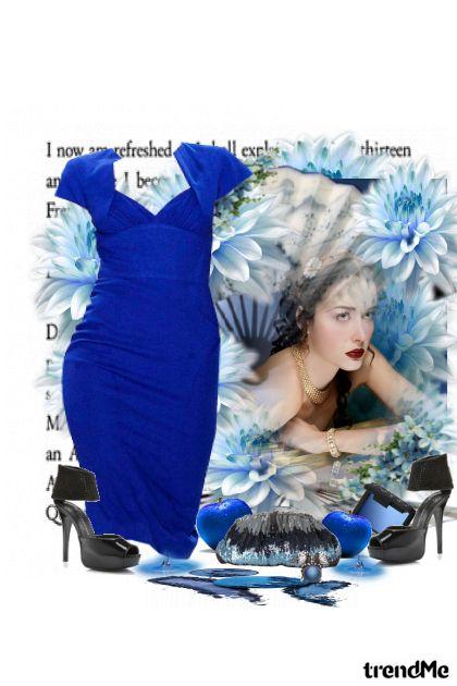 Blue..blue..dress