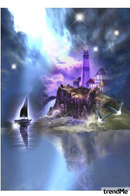magic blue lagoon