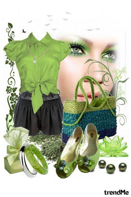 Green SHU SHU rapsody