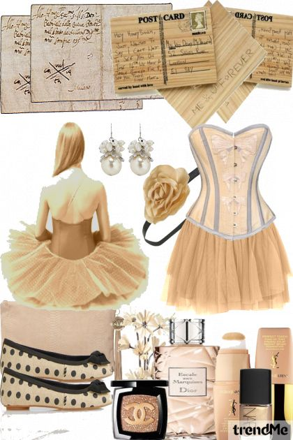 ... beacuse she's a ballerina