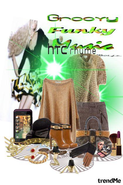 groovy funky music HTC rhyme
