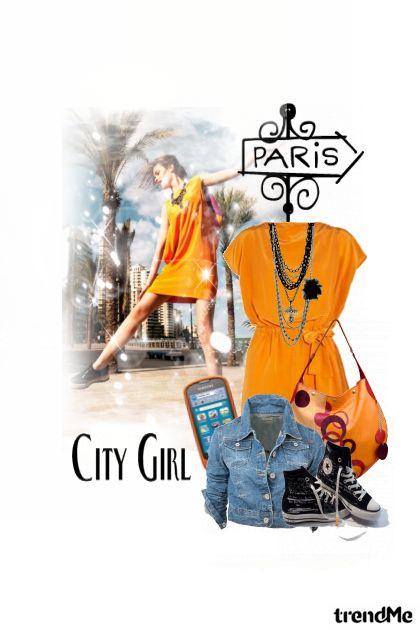 Paris is that way...