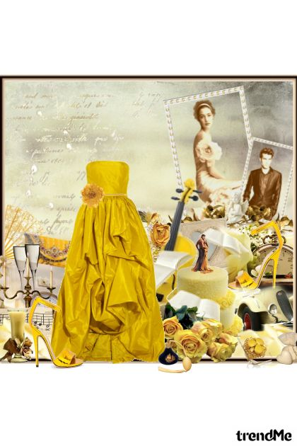 Yellow Bride to be...