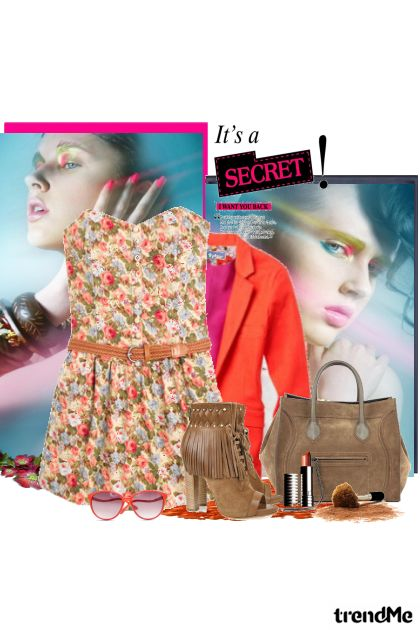"It""s a secret!!- Fashion set"
