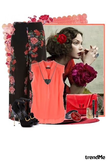 ruže su crvene, tajne su skrivene... from collection SUMMER 2011. by Tamara Z
