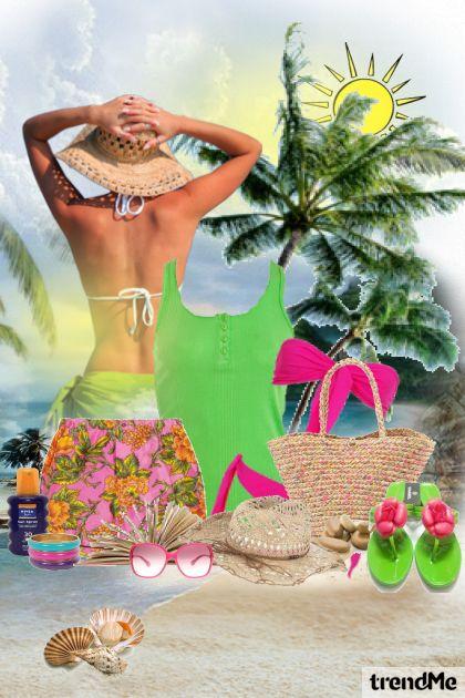 za plažu spremne....