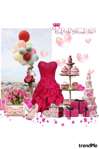princess pinky party