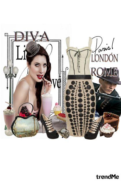 diva...Paris...London...Rome