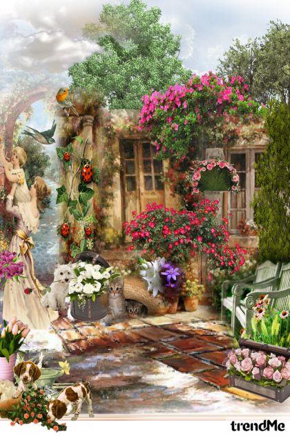 život u vrtu
