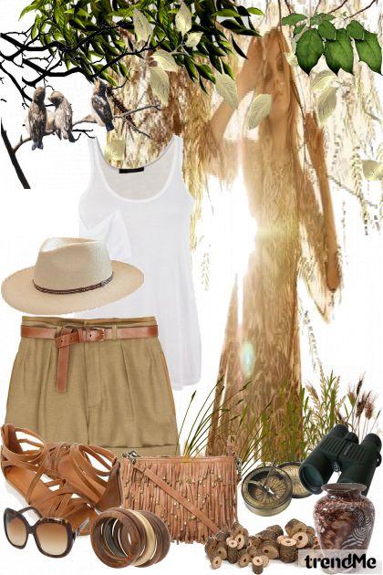 ...safari style...
