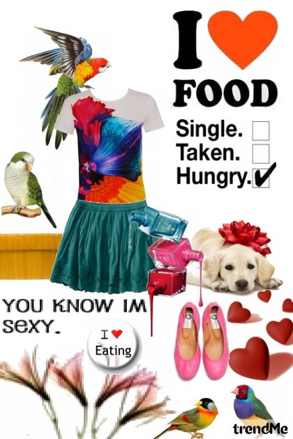 hungry sexy girl