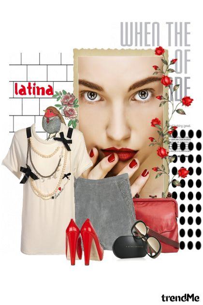Latino beauty