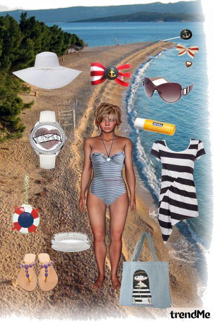 ....girl on the beach...