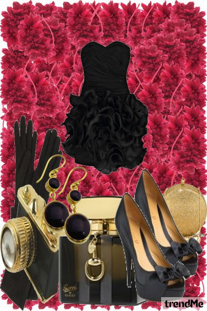 ...black rose...