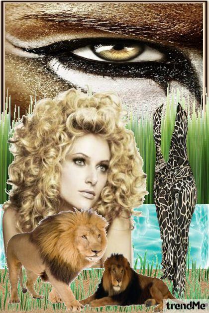 Kraljica lavova- Combinazione di moda