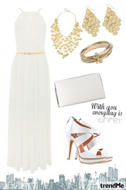 Cool White & Sunshine Gold