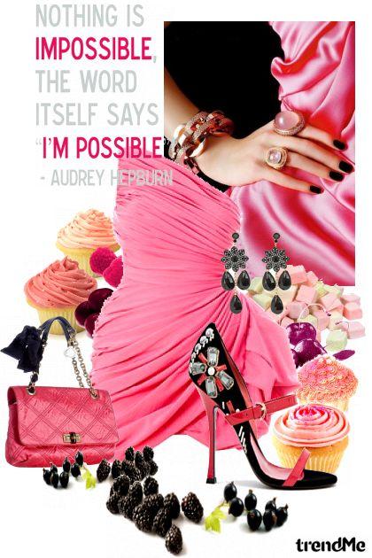 I Feel Wild Berryish And Cupcakish!