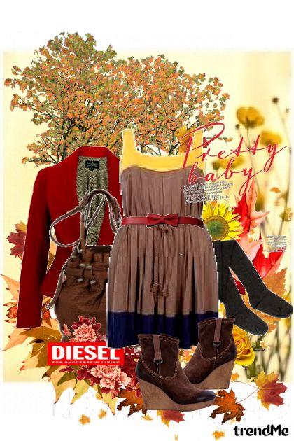 autumn with diesel