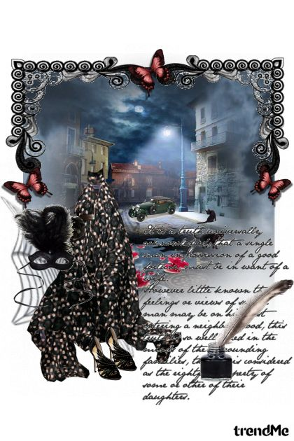 ...trčala je niz mračnu ulicu,bez da se okrenula...