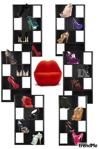 Darling,how can you say that I'm obsessed with shoes?!!