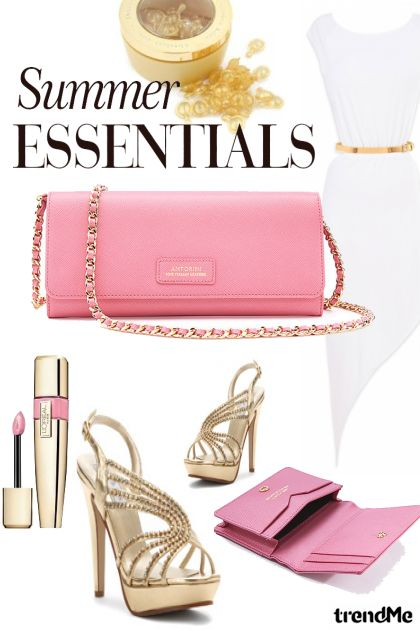 Summer Essentials ♥ Summer Fashion Accessories z kolekcji Pink Collection od ANTORINI