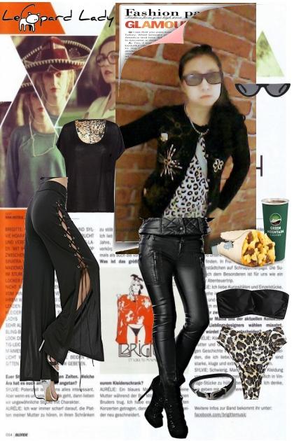 Metro Leopard Catwalk Look // Get THE look