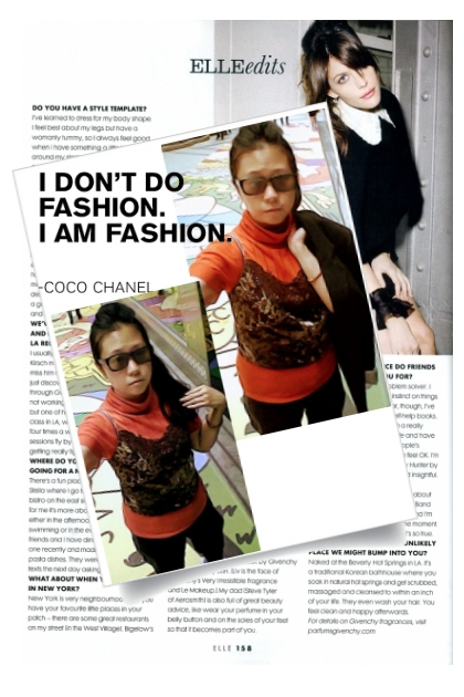 I DON'T DO FASHION I AM FASHION by COCO CHANEL