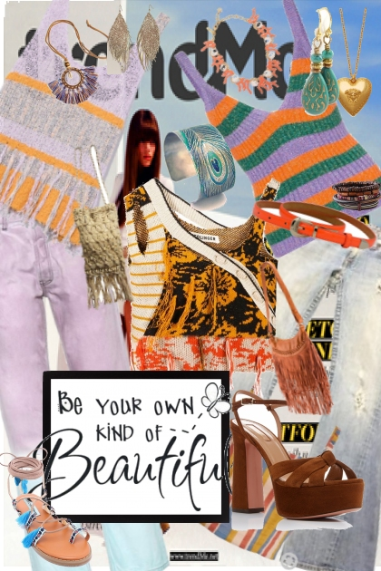 Be your own kind of beautiful- Kreacja