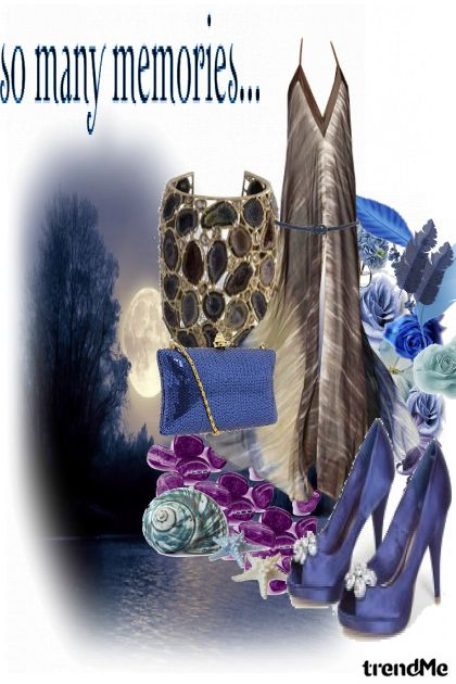 Blue night- Fashion set
