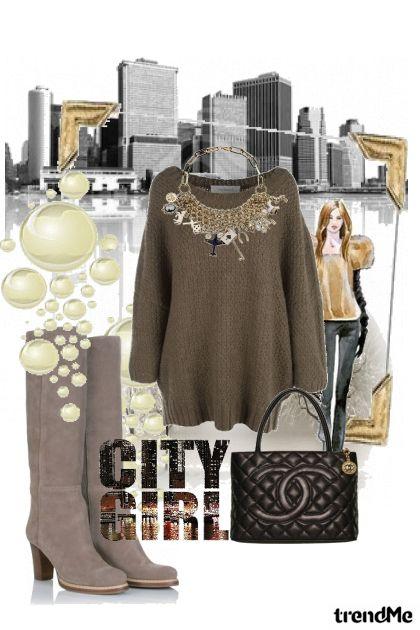 jesen u gradu- Fashion set