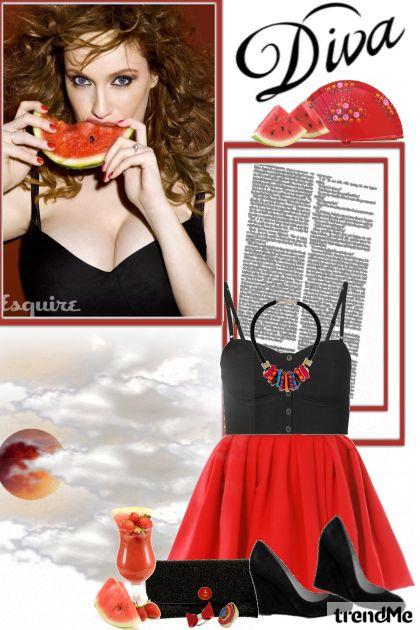 Watermelon Diva!- Fashion set