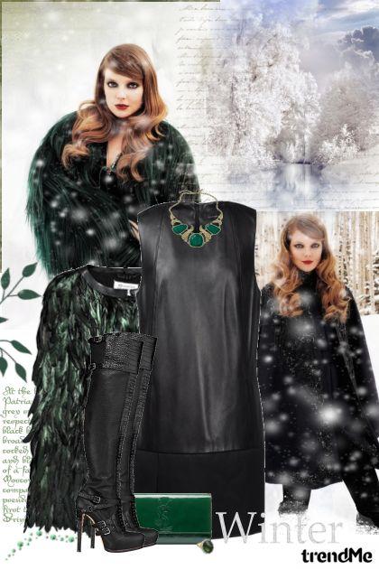 Winter in black!