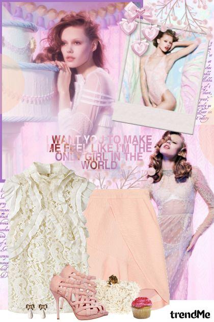 Dreamy lace...