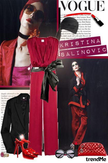 Kristina Šalinović in Vogue!