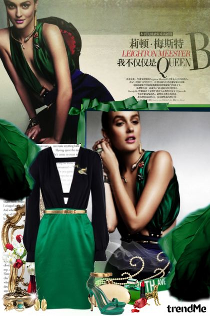 Emerald! from collection Be glamurous! by Lady Di ♕
